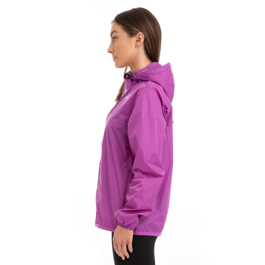 K-Way Women's Le Vrai 3.0 Claude Full Zip Jacket Violet