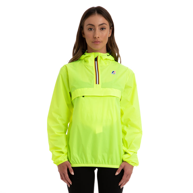 Women's Le Vrai 3.0 Leon Half Zip Jacket Yellow Fluo