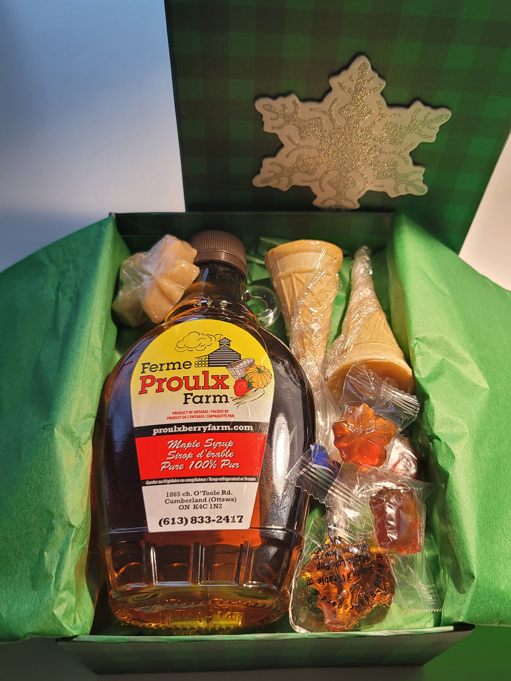 Small Maple Gift Box