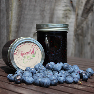 Spread The Joy Blueberry Jam