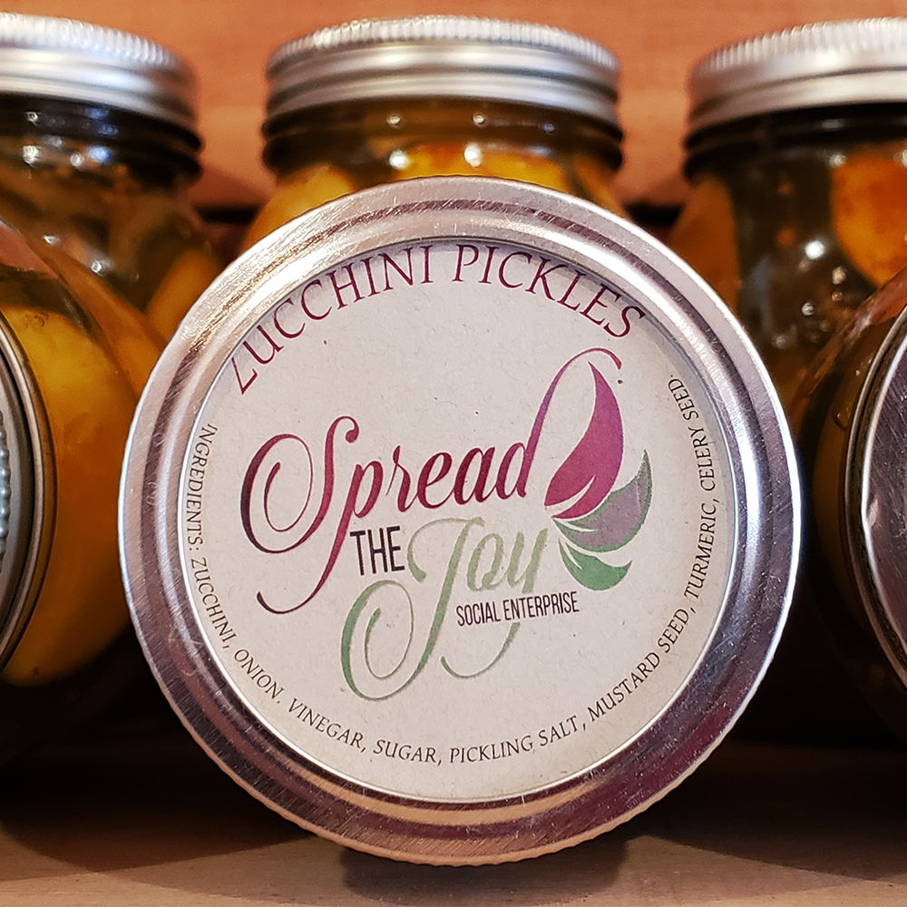 Spread The Joy Zucchini Pickles
