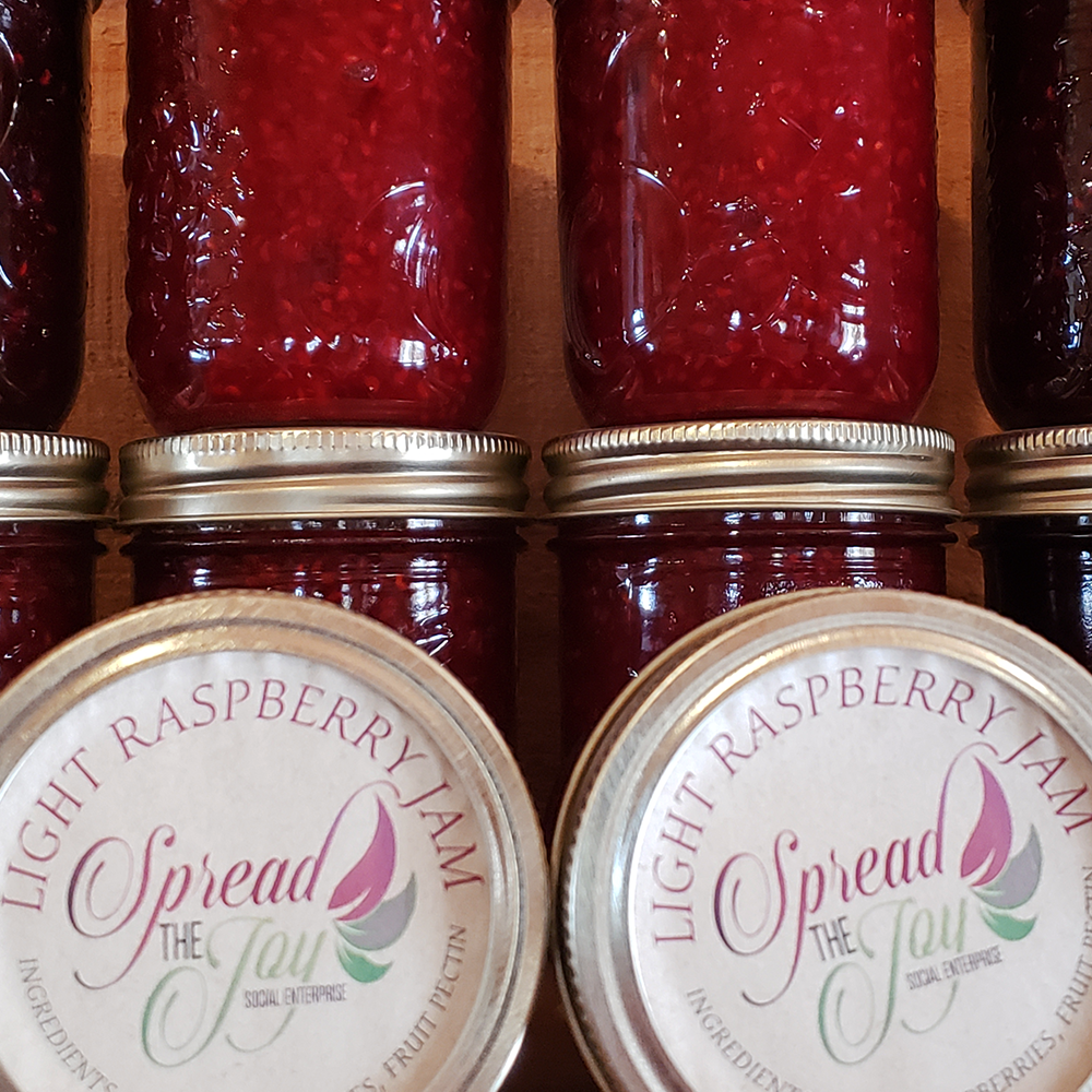 Spread The Joy Light Raspberry Jam