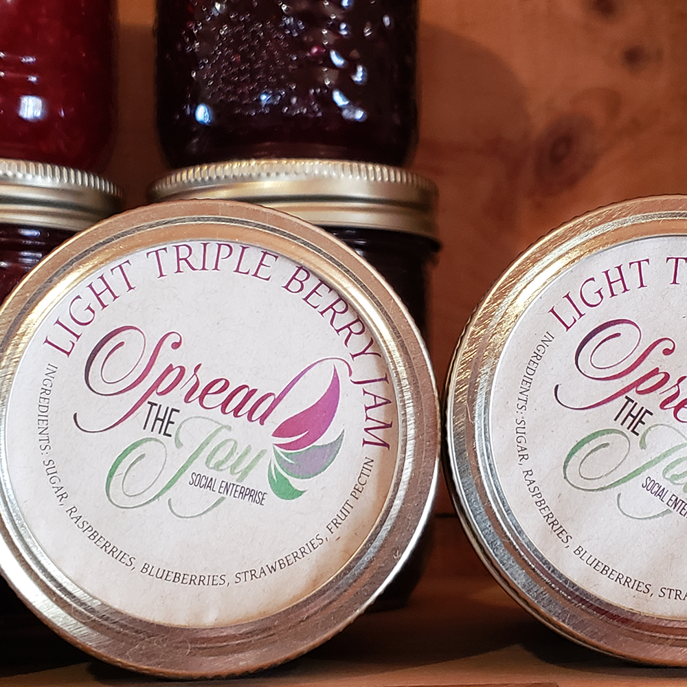 Spread The Joy Light Triple Berry Jam