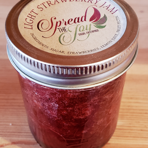 Spread The Joy Light Strawberry Jam