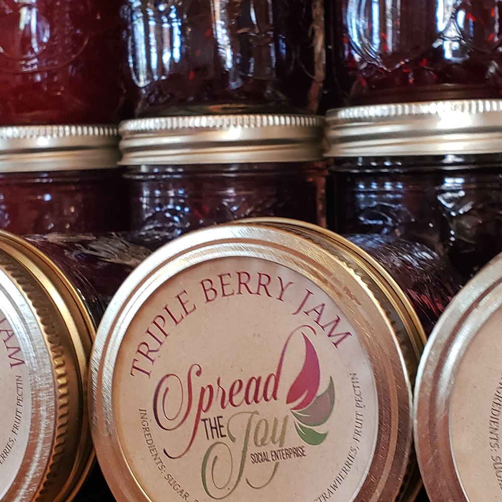 Spread The Joy Triple Berry Jam
