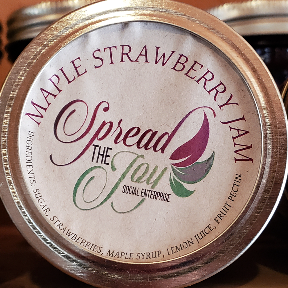 Spread The Joy Strawberry/Maple Jam