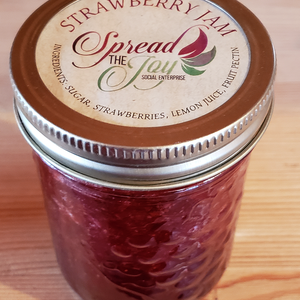Spread The Joy Strawberry Jam