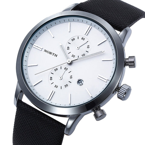 Fashion Men Casual Waterproof Japan Watch