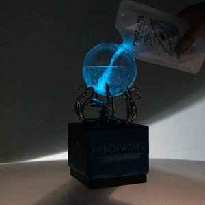 Bioluminescent Bio-Orb with OctoStand
