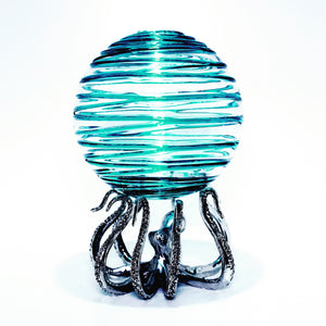 Limited Edition Bio-Orb with Octo-Stand (blue swirl)