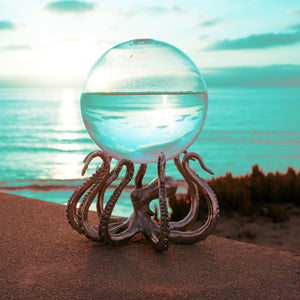 Bio-Orb on OctoStand daytime octopus stand beach ocean