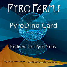 PyroFarms PyroDino Card redeem for PyroDinos