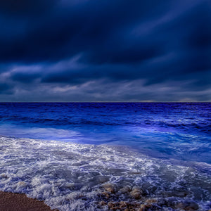 Oceanscape blue whitewater