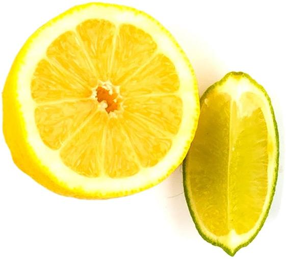 Lemon & lime slices
