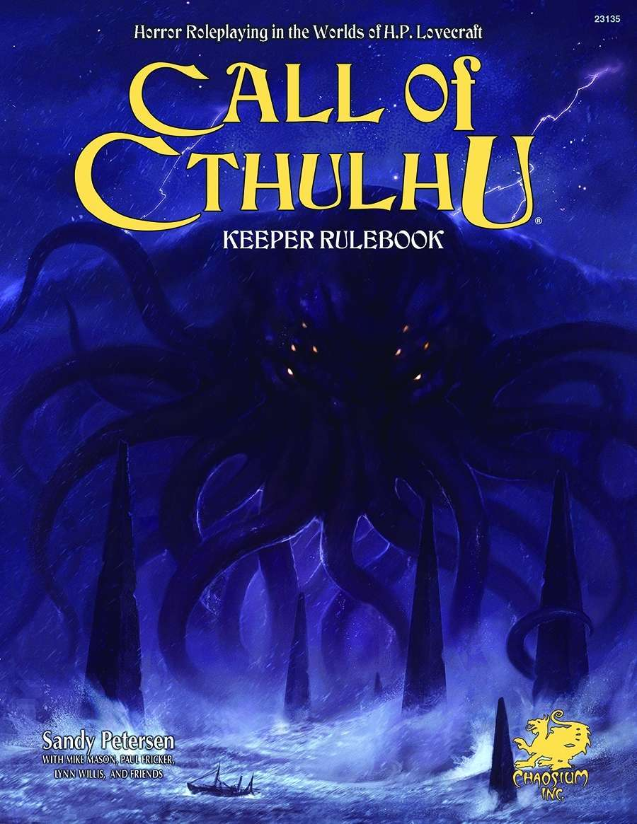 Call of Cthulhu Keeper Rulebook