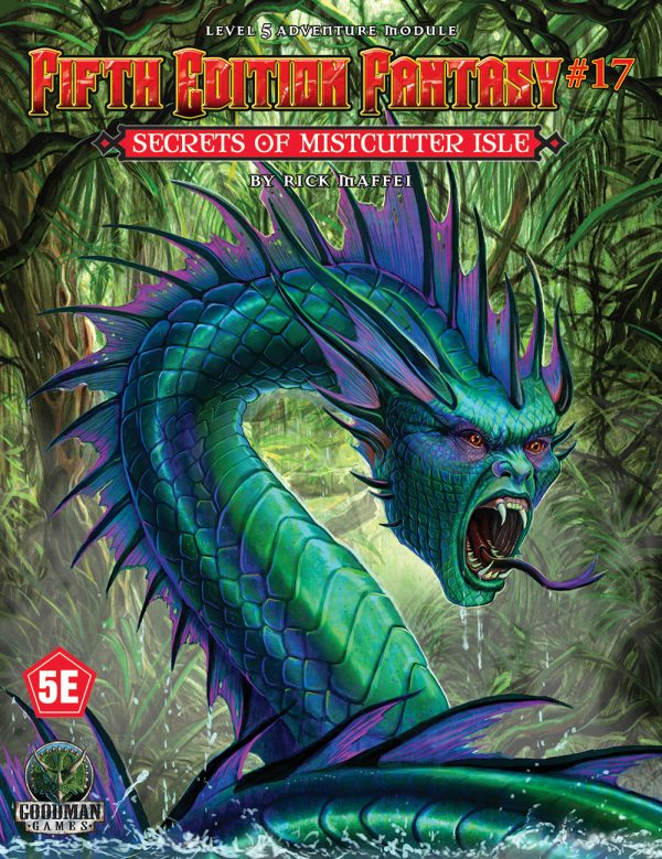 Fifth Edition Fantasy #17 - Secrets of Mistcutter Isle