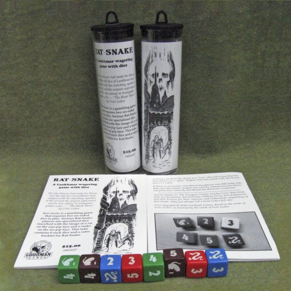 Rat-Snake Dice Game