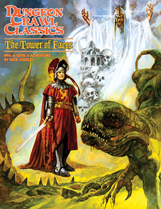 Dungeon Crawl Classics #96: The Tower of Faces (DCC RPG Adv.)