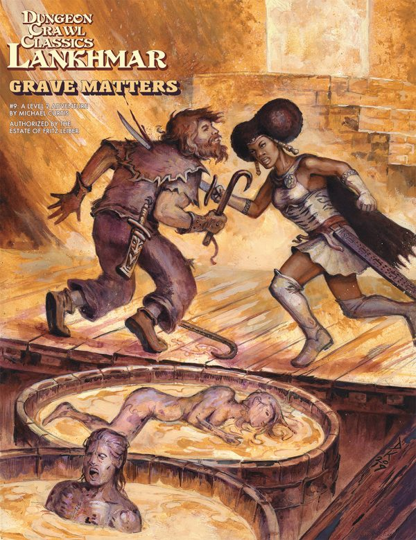 Dungeon Crawl Classics Lankhmar #9 - Grave Matters (DCC RPG Adv.)