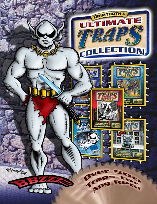 Grimtooth's Ultimate Traps Collection (System Neutral Sourcebook)