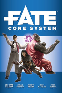 FATE Core RPG HC