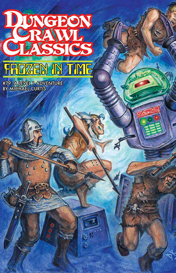 Dungeon Crawl Classics #79 Mini: Frozen in Time (DCC RPG Adventure)