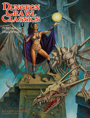 Dungeon Crawl Classics #92: Through the Dragonwall (DCC RPG Adv.)