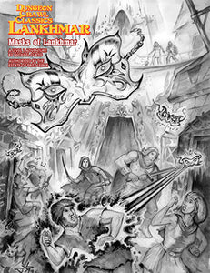 Dungeon Crawl Classics Lankhmar: Masks of Lankhmar (DCC RPG Setting)