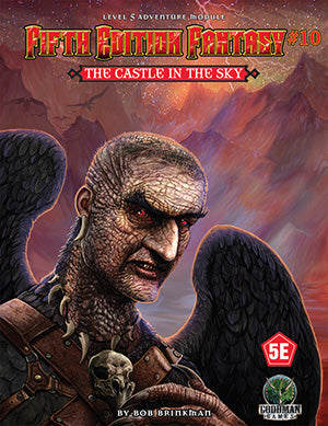Fifth Edition Fantasy #10: The Castle in the Sky (5th Ed. D&D Adventure)