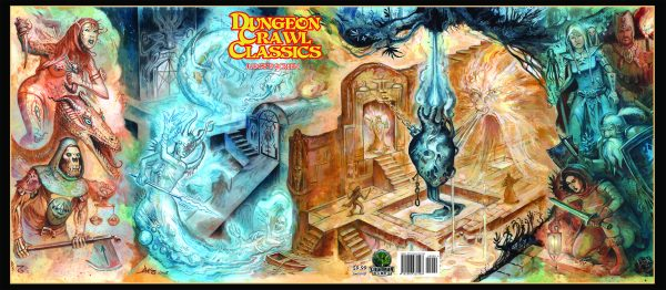 Dungeon Crawl Classics RPG Judges Screen - Thakulon Art (Ltd. Ed., Double Sided, 3 panels)