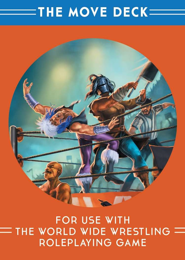 The Move Deck for World Wide Wrestling RPG