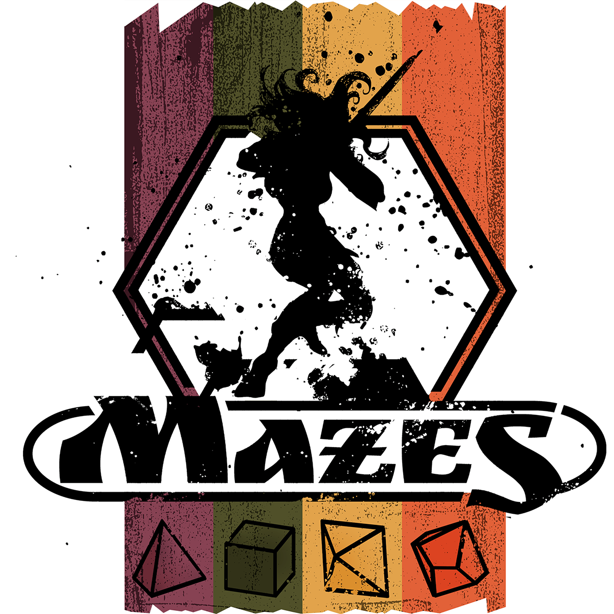 Mazes (4-book set)