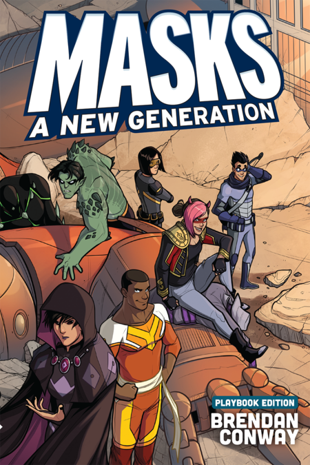 Masks A New Generation Playbook Edition