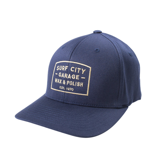 Surf City Garage Flex Fit Hat - Navy