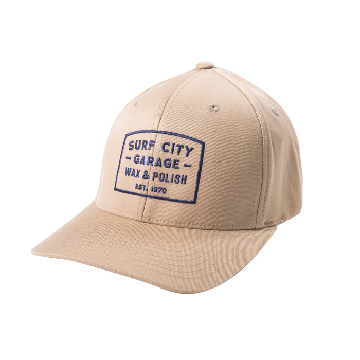 Surf City Garage Flex Fit Hat - Tan