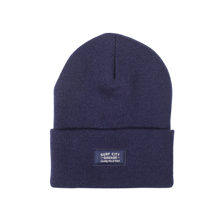 Surf City Garage Beanie - Navy