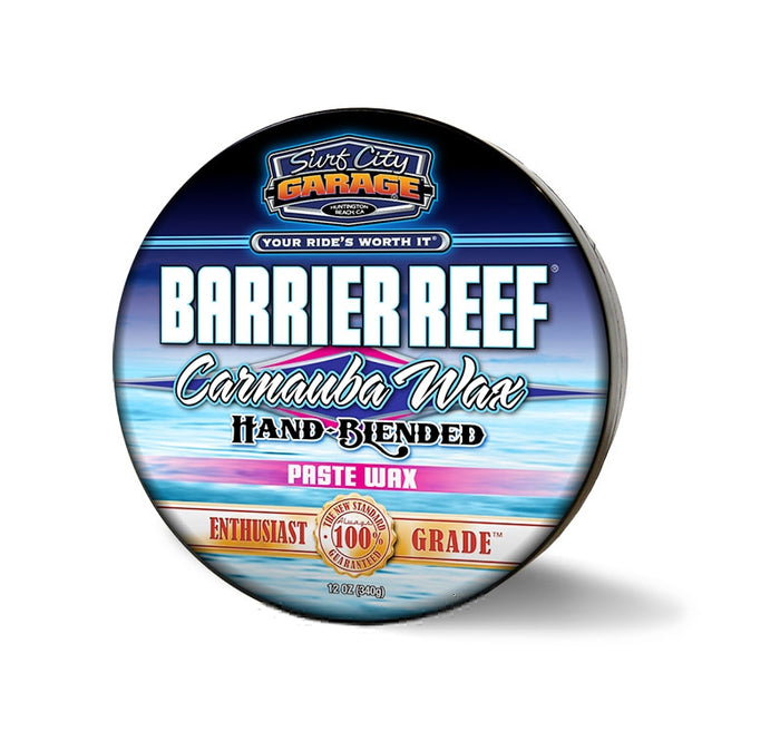 Barrier Reef® Carnauba Paste Wax - 8oz