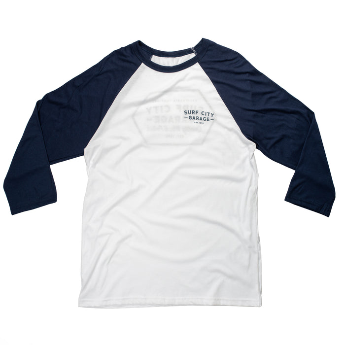 The Classic Raglan - Navy