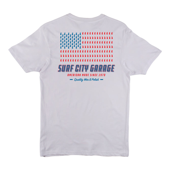 The Flag Tee - White
