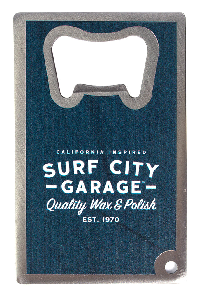 Surf City Garage Classic Metal Bottle Opener