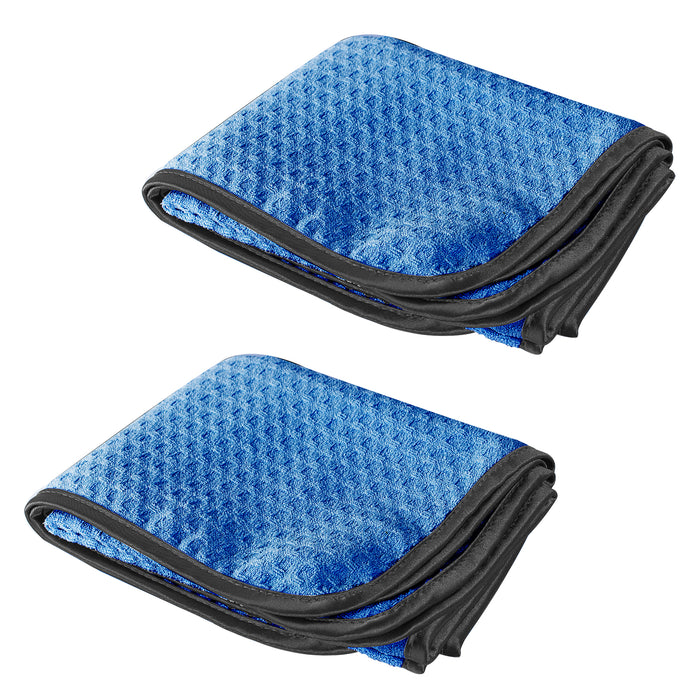 Waffle Weave Drying Towel 20x40 - 2 PACK