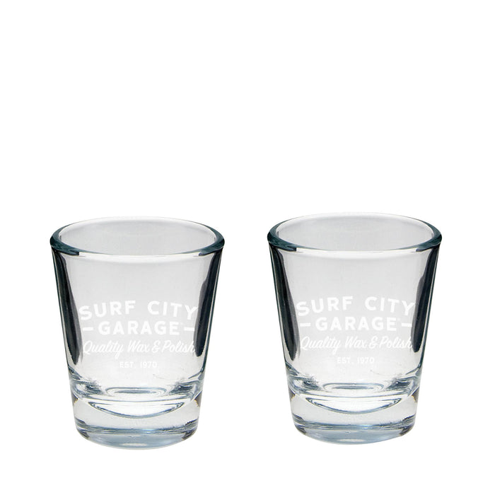 Surf City Garage Shot Glass Set