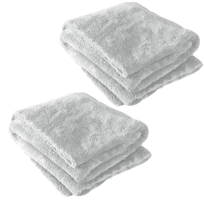 Plush Drying Towel 20x40 - 2 PACK