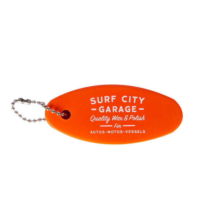 Surf City Garage Floating Keychain