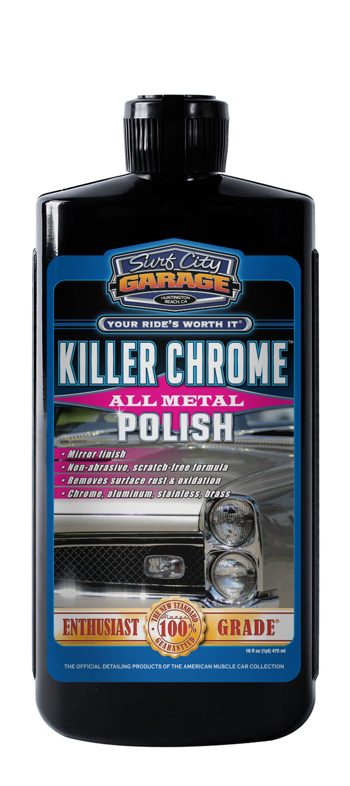 Killer Chrome® All Metal Polish