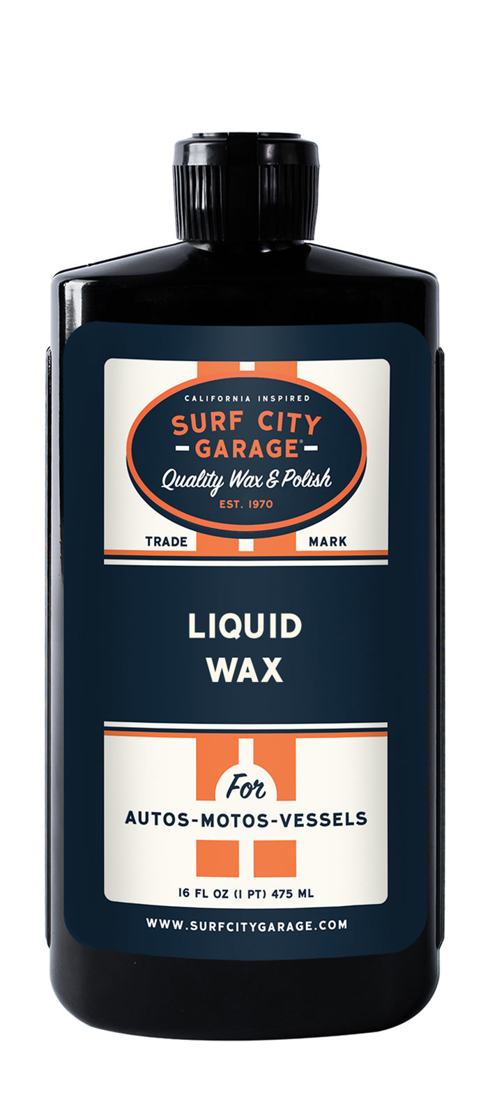 NEW LOOK! Barrier Reef® Carnauba Liquid Wax