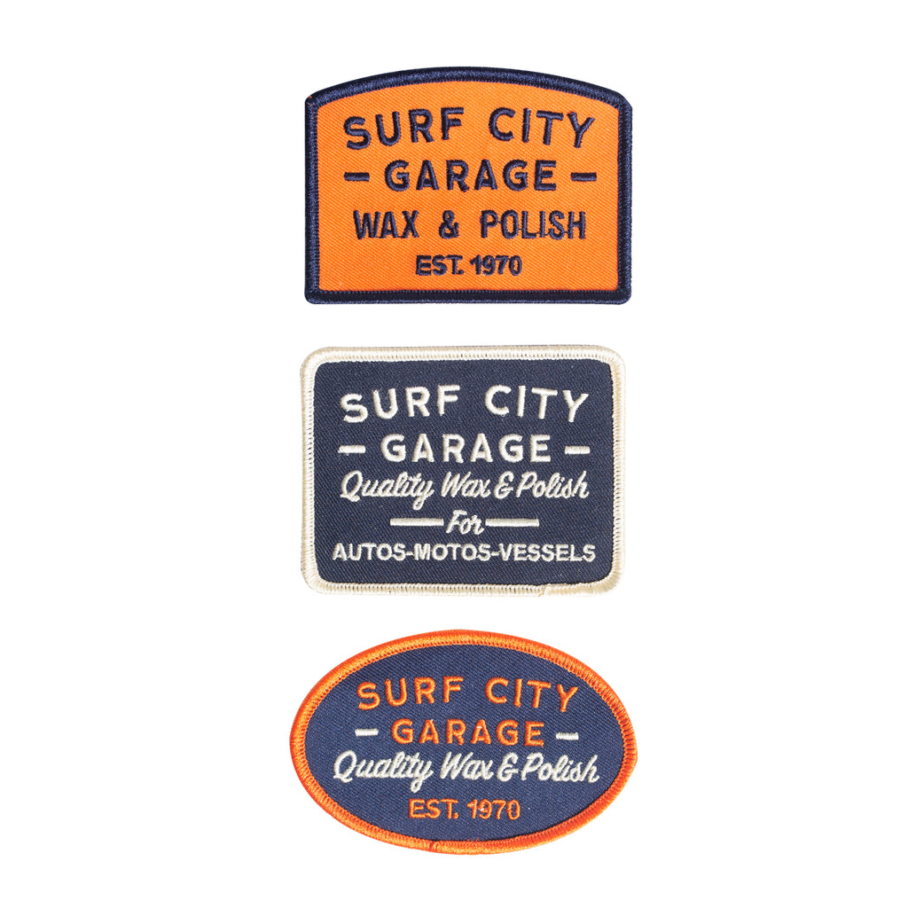 Surf City Garage Patch Set
