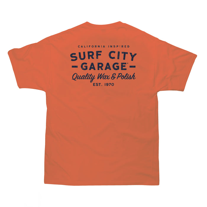 The Classic Tee - Burnt Orange