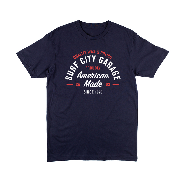 The Summer Tee - Navy