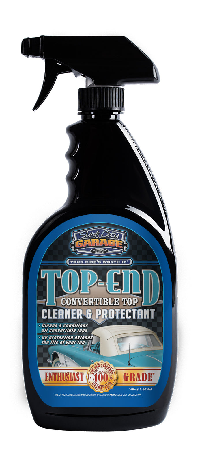 Top End® Convertible Top Cleaner & Protectant